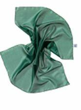 SEIDENTUCH waldgrün 55x55 cm Ponge 05 100% reine Seide auch für Seidenmalerei