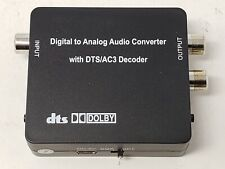 PROZOR Digital to Analog Audio Converter Support Dolby/DTS Decoder Optical Ou...