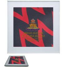 Royal Artillery Premium Drinks Mug Coaster with regimental badge on Regiment Tie