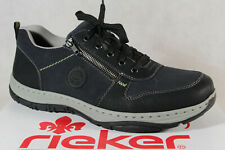 Rieker Men Sneakers Low Shoes Lace Up 16321 Black Rv New