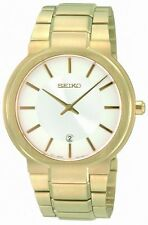 Seiko Gold Plated Band Quartz (Battery) Wristwatches