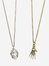 Freddy Krueger Glove Vs. Jason Mask Best Friend Necklace Set New