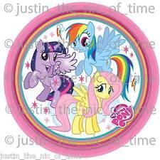 My Little Pony Party Tableware Decorations Balloons Favours 8pk Dessert Paper Plates 18cm