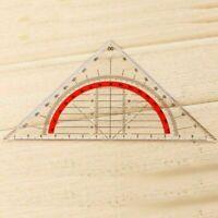 Geodreieck unzerbrechlich flexibel Geometrie Lineal U8Y4 BüroRul Schule C6S5