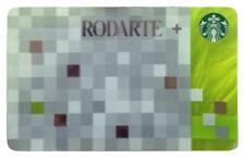 NEW 2012 STARBUCKS RODARTE GIFT CARD NO VALUE limited