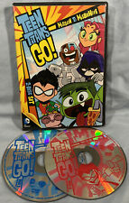 New listing Teen Titans Go: Mission to Misbehave (2-Disc Dvd Set, 2014) Dc Comics Wb Kids Vg