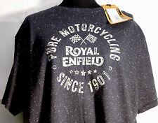Tee-shirt Royal Enfield Bleu Taille L