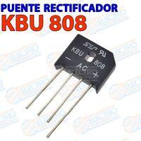 Puente rectificador KBU808 800v 8A - Arduino Electronica DIY