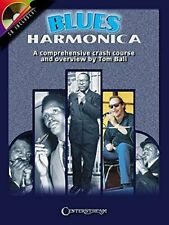 Blues Harmonica Music Book/Cd A Comprehensive Crash Course And Overview Rare New