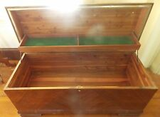 vintage lane waterfall cedar chest trunk 1940s 1950s local pickup only