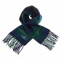 Scottish 100 % Authentic Wool Tartan Johnstone Modern Clan Scarf New !