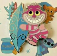 ☕ Exclusive Disney Park Pals Cheshire Cat in Wonderland Mystery Box Trading Pin