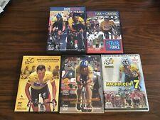 Six Years Of Tour De France Lance Armstrong Dvds 12 Discs 1999 - 2005 Excellent
