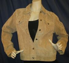 Wilsons Leather Maxmia Jacket Coat Tan Medium M Med Womens Wonderful Condition