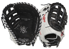 "Rawlings Heart of the Hide 13"" Fastpitch Softball First Base Mitt PROFM19SB-17BW"