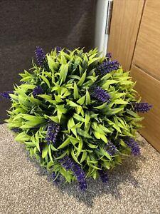 Artificial Lavender Flower Ball From Tesco