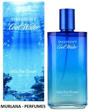 COOL WATER INTO THE OCEAN DAVIDOFF EAU TOILETTE SPRAY125ml. LIMITED EDITION 2013
