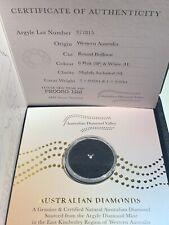 Argyle Certified 8P & White .05ct Diamond Lot