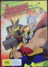 DVD. The Avengers / Earth's Mightiest Heroes / Galactic Struggle / (PG) / R4 PAL