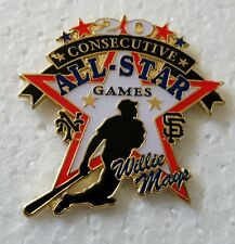 Willie MAYS 20 CONSECUTIVE ALL STAR GAMES Lapel Pin - S.F. GIANTS
