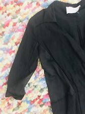 THREE OF SOMETHING WOMENS DRESS BLACK COTTON MESH LINING SZ XS