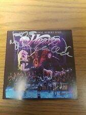HEART signed autographed CD ANN & NANCY WILSON--R'N'R HALL OF FAME 2013
