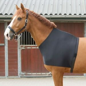 Harry's Horse Lycra Chest Protector Bib - Black Harry's Horse