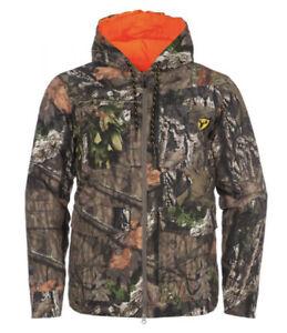 New! Scent Blocker Evolve Reversible Jacket Mossy Oak Blaze XXL Deer Bowhunting