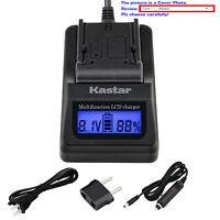 Kastar Battery LCD Fast Charger for Panasonic Lumix DMC-FS5EG-S DMC-FS5GK BCE10E