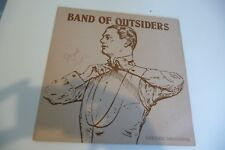 BAND OF OUTSIDERS LP EVERYTHING TAKES FOREVER. SIGNED BY JOSEPH DRAKE.