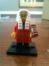 Lego Judge Series 9 Collectible Minifigure - Robes & Gavel - Cmf