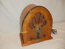 Repro Crosley Collector Edition Cathedral AM FM Radio Cassette Model 317 CR32