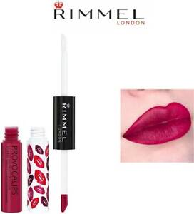 RIMMEL PROVOCALIPS KISS PROOF LIP COLOUR 410 NOT QUILTY & FREE KG LIPLINER x 1