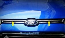 304 steel Front Grille cover Chrome trim molding FORD Ecosport 2013 2014 2015