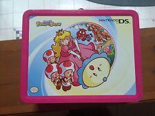 Nintendo DS Lite Lunchbox Metal Tin Carrying Case Storage Super Princess Peach