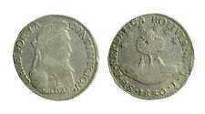 s297)  BOLIVIA - Repubblica (1825) - 4 Soles 1830 JL Kr. 96a.1