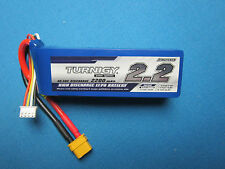 TURNIGY 2200mAh 3S 11.1V 40C 50C LIPO BATTERY XT60 HELI FPV EDF AIRPLANE QUAD RC