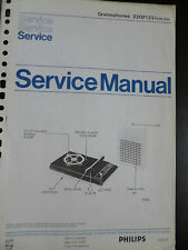 Original Service Manual Philips 22GF133