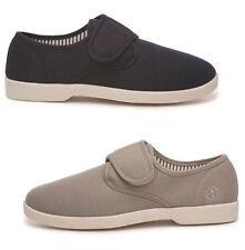New Dr Keller Mens Canvas Shoes Wide Fit Deck Pumps Summer Shoes Trainers UK