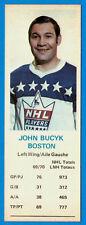 1970-71 Dad's Cookies  JOHN BUCYK  -- Boston Bruins  (ex-)