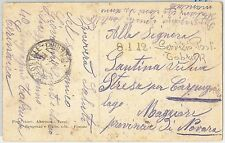 47678 - ITALIA COLONIE: LIBIA - Storia Postale: CARTOLINA da Tobruch 1912