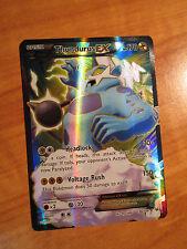 EX FULL ART Pokemon THUNDURUS EX Card ROARING SKIES Set 98/108 XY X Y Ultra Rare