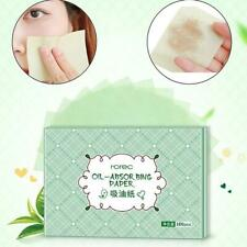 100pcs Facial Oil Absorbing Blotting Film Paper, Oil Remover Clean Tissue