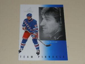 1997-98 Pinnacle Team Pinnacle #4 Wayne Gretzky Paul Kariya