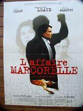 AFFICHE - L'AFFAIRE MARCORELLE JEAN PIERRE LEAUD IRENE JACOB SERGE LE PERON