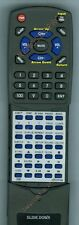Replacement Remote for CONCERTONE ZX500, ZX600