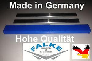 Scheppach HM2 HSS Nachschärfbar Hobelmesser Klinge 260mm