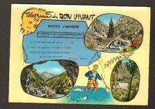 VALLS ANDORRA (ANDORRE) Télégramme de MASSANA en 1965