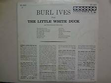 Burl Ives:Sings Little White Duck & Other-U.S.HarmonyPcv Autographed ByBurt Ives