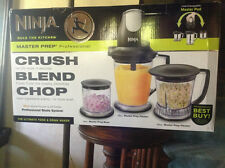 Euro-Pro QB1004 Ninja Master Prep Pro Crusher Blender Chopper Food Drink Mixer